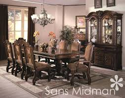 Black Dining Room Set With China Cabinet