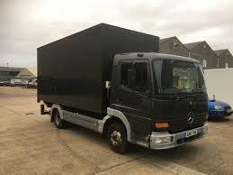 100 Mercedes Box Truck MERCEDES BENZ ATEGO 75 TONES BOX TRUCK LOW MILAGE
