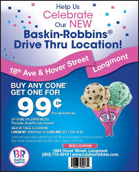 Baskin Robbins Longmont (New Drive Thru Location!) - Landing ... Baskin Robbins Free Ice Cream Coupons Chase Coupon 125 Dollars Product Name Online At Paytmcom 50 Off Paytm National Ice Cream Day Freebies And Deals Robbins Coupons Get Off Deal 3 Your Next Baskrobbins Cake Or Dig Into Freebies On Diamonds Dads Dog Food Printable Home Delivery Order Online Hirdani 2 Egift Card Expires 110617 Singleusecodes Buy One Get Tuesday 2018 Store Deals Cookies Pralines N 500ml