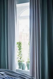 tibast 2 gardinenschals blau 145x300 cm ikea deutschland