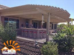 Louvered Patio Covers Phoenix choosing the right patio cover az patio cover sun control llc