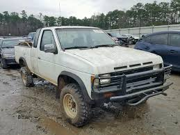 100 1991 Nissan Truck Damaged Car For Sale And Auction 1N6Hd16Y6Mc359882
