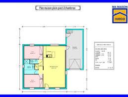 plan maison plain pied 2 chambres plan maison 80m2 2 chambres free plan maison plan maison loft with
