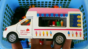 100 Ice Cream Truck Names Box Full Of Toys Fire Police Car Learn