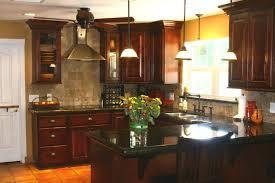 Kitchen Backsplash Ideas With Dark Oak Cabinets by 20 Kitchen Backsplash Ideas For Dark Cabinets Baytownkitchen Com