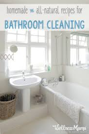 natural bathroom cleaning tips wellness mama