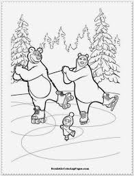 Kea Coloring Book Games Masha And The Bear Pages Printable Cooloring