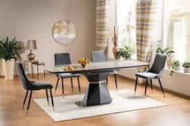 esstisch tisch designertisch luxus keramik metallfuß