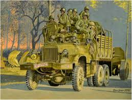 100 Diamond T Truck History Towing Artillery WWII ARMOR World War Two Military