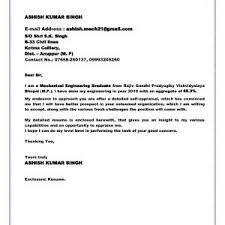 Resume Cover Letter Samples For Fresh Graduates