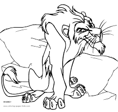Lion King Nala Coloring Pages