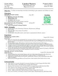 How To List Internship On Resume University Sample