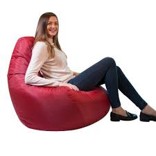 Bean Bag Bazaar Designer Recliner Gaming Bean Bag Black - Waterproof Indoor  & Outdoor Beanbag Chair Top 10 Bean Bag Chairs Of 2019 Video Review Attractive Young Woman Lying On Red Square Shaped Beanbag Sofa Slab Red 3 Sizes Candy Chair Us 2242 41 Offlevmoon Medium Camouflage Beanbags Kids Bed For Sleeping Portable Folding Child Seat Sofa Zac Without The Fillerin Real Leather Modern Style Futon Couch Sleeper Lounge Sleep Dorm Hotel Beans Velvet Plain Collection Yogibo Family Fun Fniture 17 Best To Consider For Your Living