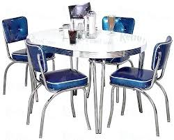Retro Kitchen Table Sets Dining Chairs