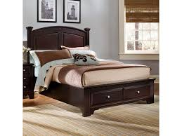 Vaughan Bassett Bedroom Sets by Vaughan Bassett Hamilton Franklin Queen Panel Storage Bed Great