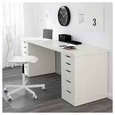 linnmon table top white legs spaces and workspaces ikea printer