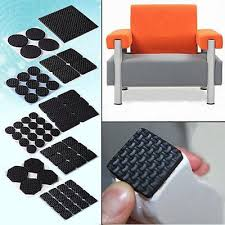 Rubber Chair Leg Protectors For Hardwood Floors by Adhesive Rubber Furniture Feet Floor Protector Pads Anti Skid