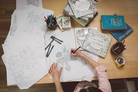 Johanna Basford A Scottish Illustrator Has Sold More Than 14 Million Copies Of Her Coloring Book For Adults Secret Garden