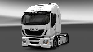 100 Iveco Truck IVECO STRALIS HIWAY INTERIOREXTERIOR REWORK V11 ETS2 Mods