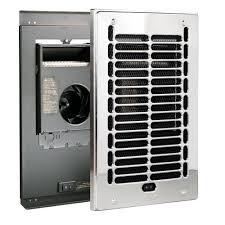 Home Depot Bathroom Exhaust Fan Heater by Cadet Rbf Series 1000 Watt 120 Volt Electric Fan Forced In Wall