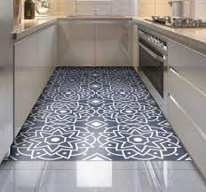 schöne vinyl teppiche für die küche tenstickers