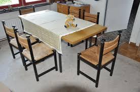 6 esszimmer stühle landhausstil asco finnland 60er