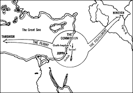 GEOGRAPHY OF JONAH Click Charts To Enlarge Chart From Recommended Resource Jensens Survey Of The OT