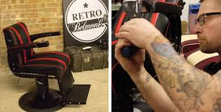 check out retro belmonts modern barber