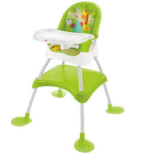 Fisher Price 4 In 1 Jungle Baby Feeding High Chair Infant Booster ...