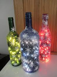 Decorative Wine Bottles With Lights by 80 Homemade Wine Bottle Crafts Christmas Wine Bottles