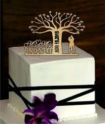 Hand Made Wedding Cake Bags Rustic Topper Custom