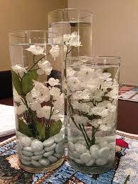 DIY Dining Table Centerpiece It Was So Easy Just Got The Supplies At Michaels And Im Adding Floating Candles To Top
