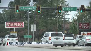 100 Truck Town Summerville North Main Street Turn Lane Improvement Completed In