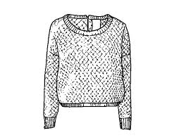 Sweater Coloring Page Best 2017