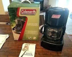 Propane Coffee Maker Outdoor Camping Drip Cups W Original Box