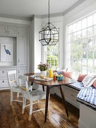 Kitchen Booth Seating Ideas by Furniture Kitchen Banquette Seating Ideas With Two White Chairs