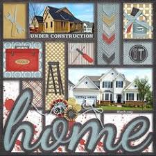 Our New Home Scrapbook SCRAPBOOK LAYOUTS