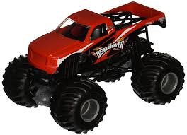 100 Destroyer Monster Truck Buy Hot Wheels Jam 124 Scale Vehicle Online At