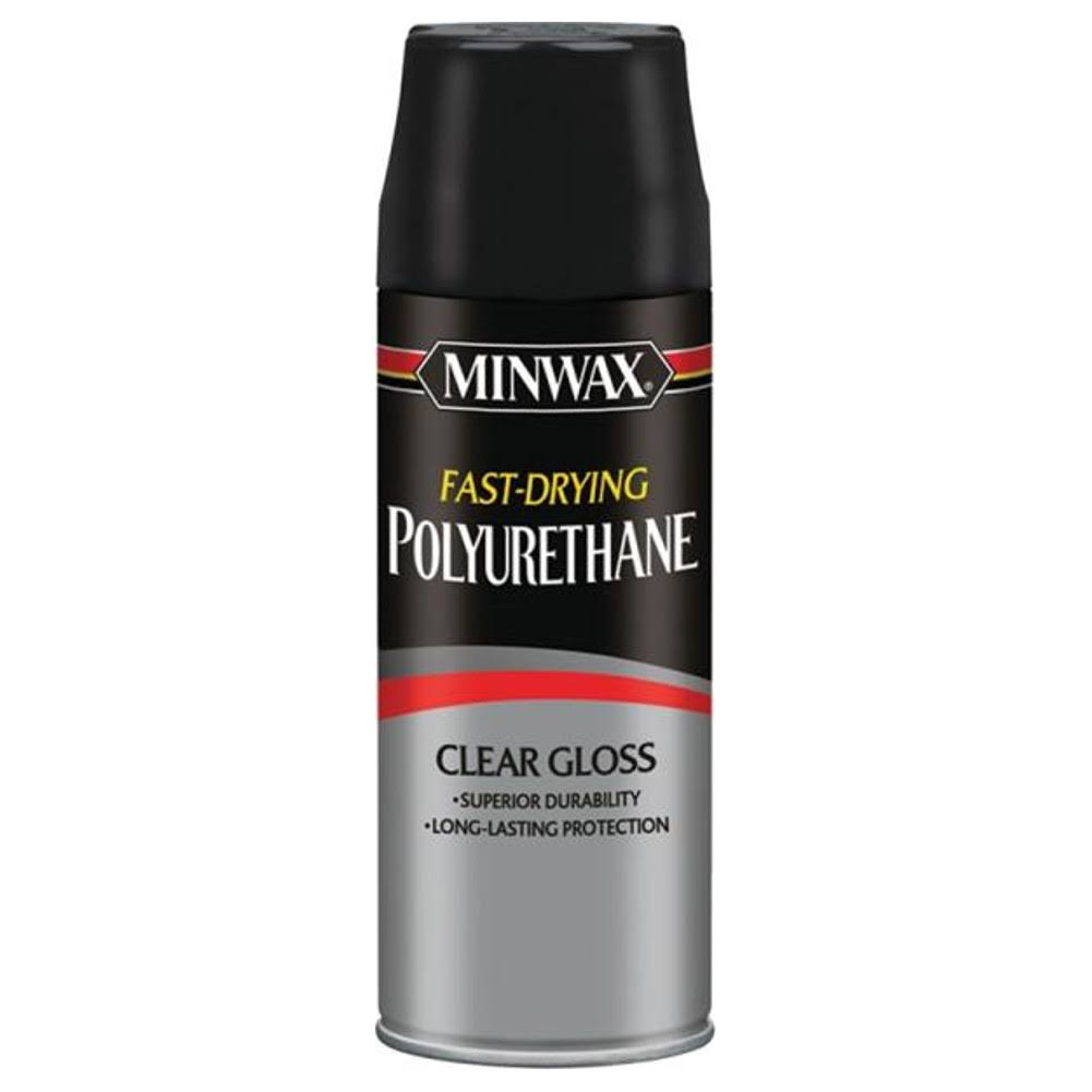 Minwax Fast-Drying Polyurethane Aerosol Spray - Clear Gloss