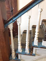 How To Paint Stair Spindles - Junque Cottage Stalling Banister Carkajanscom Banister Spindle Replacement Replacing Wooden Stair Balusters Model Staircase Spindles For How To Replace Pating The Stair Stairs Astounding Wrought Iron Unique White Back Best 25 Black Ideas On Pinterest Painted Showroom Saturn Stop The Uks Ideas Top Latest Door Design Decorations Outdoor Railing Indoor Remodelaholic Renovation Using Existing Newel Fresh Rail And