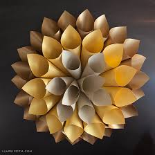 Paper Wall Art Starburst Tutorial