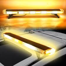 100 Emergency Strobe Lights For Trucks 47inch 88w Led Emergency Strobe Lights Bar Flash Warning Lamp Yellow