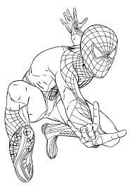 Marvelous Spiderman Coloring Pages Pdf Crayola Photo Download Spider Man Free Printable Kids Print Logo Amazing