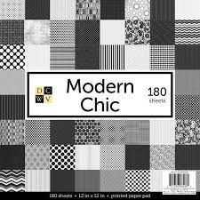 100 Modern Chic Stack Paper Pad 12 X 12 60 Sheets And 180 Sheets Available
