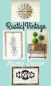Items To Add Style Your Rustic Vintage Home Decor Ad Farmhouse