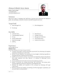 Sale Manager Resume Retail Sales Sample Examples National