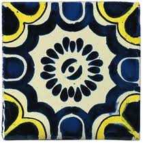 mexican talavera tile painted ceramic mexican tiles