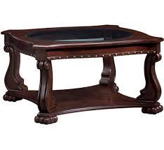 nicholas square coffee table badcock more