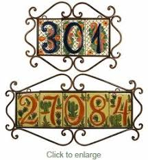29 best tile address frames images on pinterest irons wrought