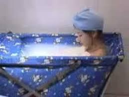 Portable Bathtub For Adults Australia by Folding Bathtub Youtube